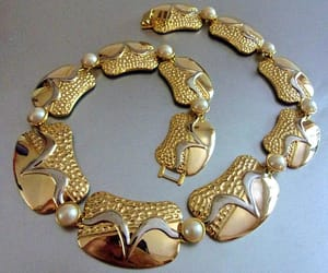 etsy, Sophistication, and vintage necklace image
