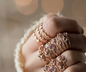 rings, beauty, and jewels image