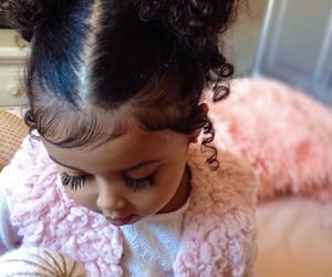 baby girl, baby pink, and beautiful image
