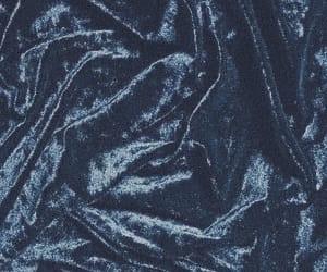 blue, aesthetic, and velvet image