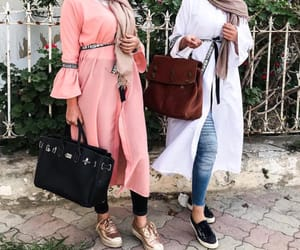 fashion, hijab, and peace image