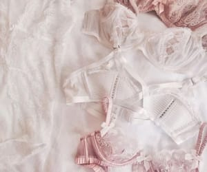 pink, bra, and lingerie image