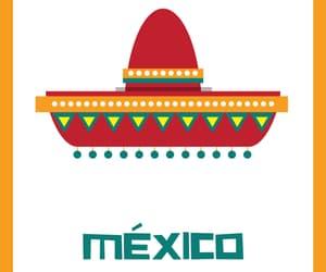 colores, sombrero, and tricolor image
