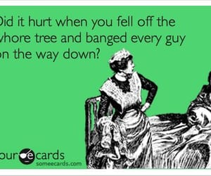 funny, whore, and quotes image