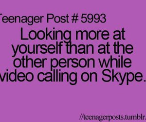 funny, skype, and quote image