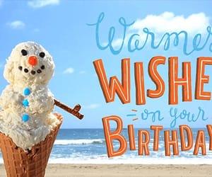 beach, b'day, and birthday image