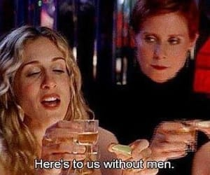 sex and the city, men, and quotes image