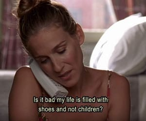 alone, Carrie Bradshaw, and happy image
