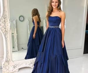 fashion, prom dress, and formal dress image