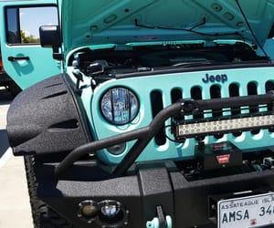 4x4, aqua, and jeep image