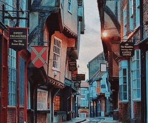 street, england, and travel image