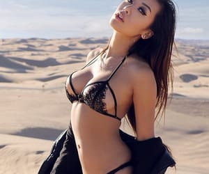 bikini, fashion, and lingerie image