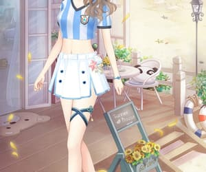 anime, futebol, and game image