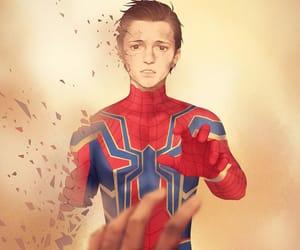 Marvel, tat, and sad image