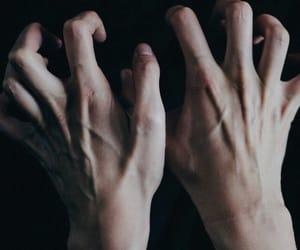 hands, veins, and grunge image