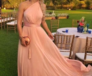maxi dress, beach dress, and prom dress image
