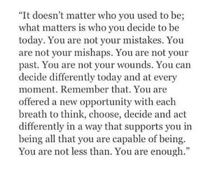 you are good enough and be different image