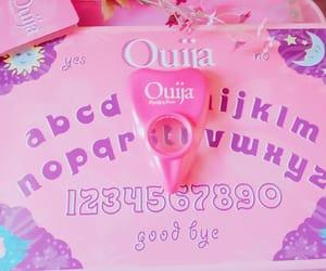 ouija, pastel, and pink image