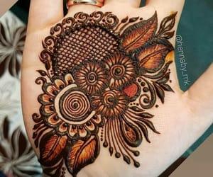 henna and mehndi design image