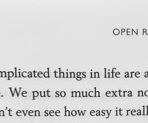 book, saying, and life image