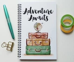 art, bullet journal, and diy image