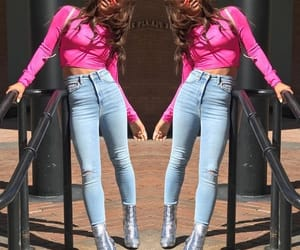 christina milian, pink, and outfit image