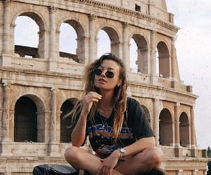 explore, traveling, and girl image