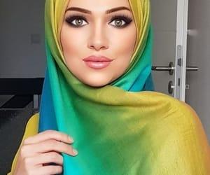 beauty, flawless, and hijab image