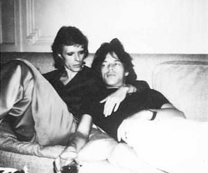 jagger, bowie, and mick bby image