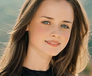 alexis bledel, blue eyes, and brunette image