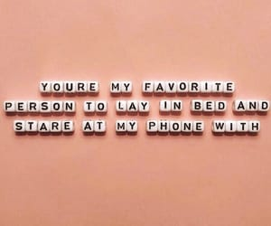 love, bed, and boy image