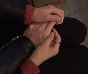 alternative, hands, and love image