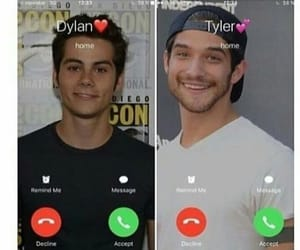 scott, dylan o'brian, and stiles image