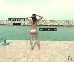 alone, not you, and wanna image