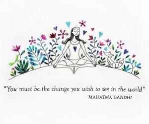 art, change, and gandhi image