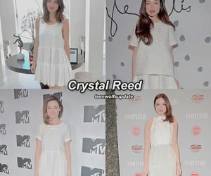 alison, crystal reed, and teen wolf image