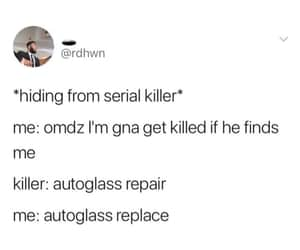funny, serial killer, and tune image