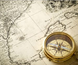 masp, compass, and old world image