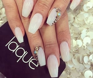 nails, beauty, and laque image