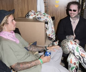 justin bieber and post malone image