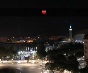 coeur, nigth, and route image