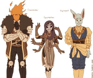 once day at a time, grillby (commander), and muffet (spymaster) image