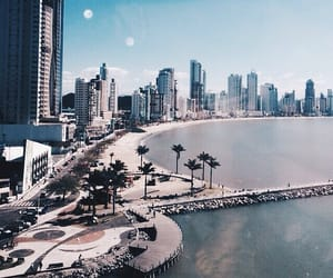 city, travel, and beach image