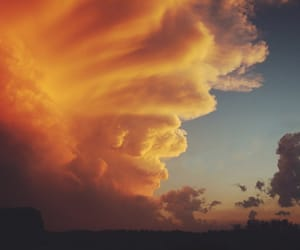 clouds, nature, and sky image