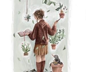 harry potter, mandrake, and herbology image