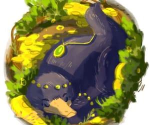 fantastic beasts, niffler, and newt scamander image