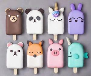 food, animal, and ice cream image