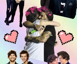 harrystyles, larrystylinson, and onedirection image
