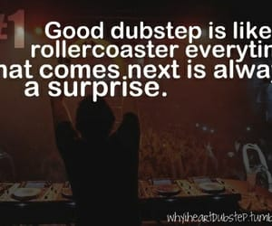 dubstep, qoute, and music image