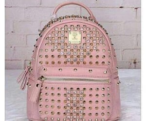 beautiful, schoolbag, and chic image